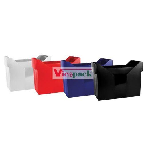 Függőmappa tároló, műanyag