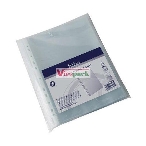 Genotherm, lefűzhető, A4, 80 mikron, víztiszta / csom (100 db)