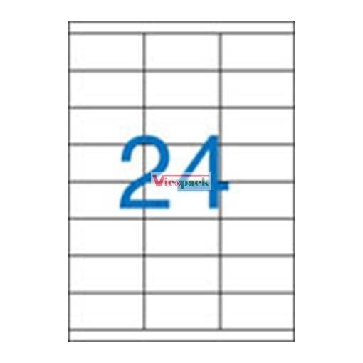 Etikett, univerzális, 70x35 mm, 2400 etikett/csomag