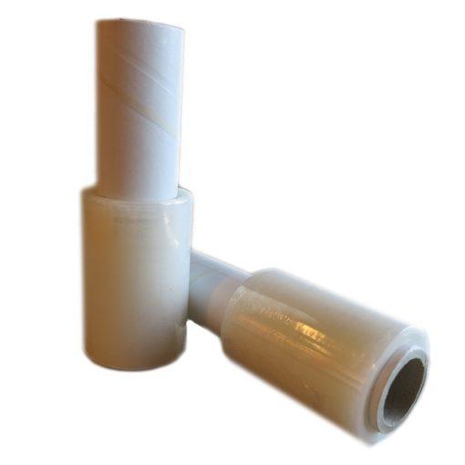 Mini roll áttetsző stretch fólia, nyeles gránátos