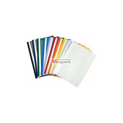 Gyorsfűző PP A/4 több színben
