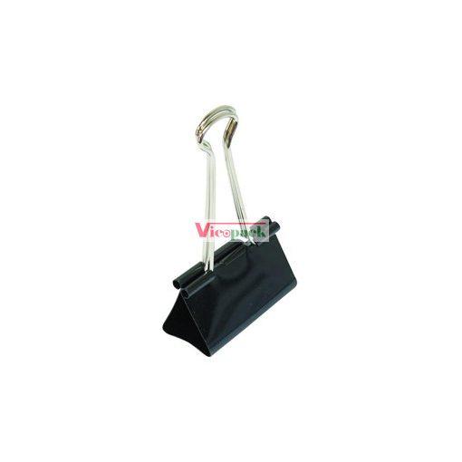 Bindercsipesz fekete 51mm 12db / doboz